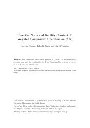 Essential Norm and Stability Constant of Weighted Composition ...