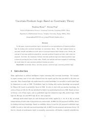 Uncertain Predicate Logic Based on Uncertainty Theory