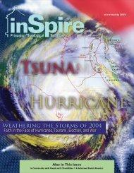 2003/b Winter layout - Princeton Theological Seminary