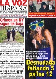 Crimen en NY sigue en baja - La Voz Hispana Newspaper