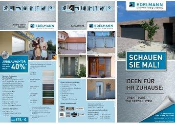 Prospekt Herbst 2010 - EDELMANN - Fachmarkt für das Handwerk