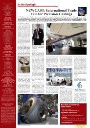 NEWCAST: International Trade Fair for Precision Castings