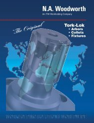 Woodworth Tork Lok I.D. Grip Collet Chucks and - ITW Workholding
