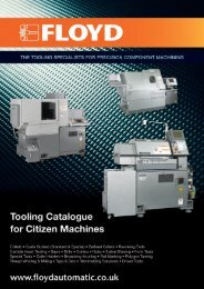 Citizen Tooling Manual - Floyd Automatic Tooling Ltd