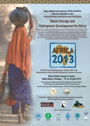 Water Storage and Hydropower Development for Africa