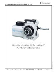 5C2 Rotary Indexing Systems User Manual B-119D - ROVI Products