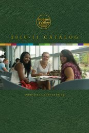 2011 College Catalog as Printed (PDF) - HVCC