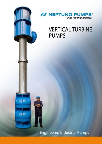 VERTICAL TURBINE PUMPS - Neptuno Pumps