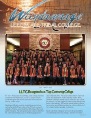 Fall Newsletter 2010 - Leech Lake Tribal College