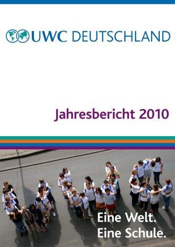 Jahresbericht 2010 - UWC in