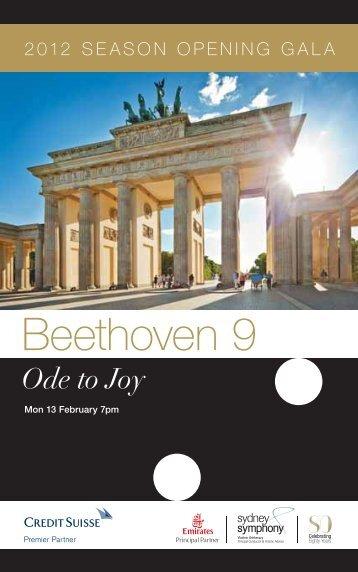 Beethoven 9: Ode to Joy - Sydney Symphony Orchestra