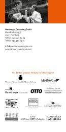 Konzertvorschau 2012/2013 | PDF - Hamburger Camerata