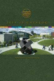 2010 College Catalog as Printed (PDF) - HVCC