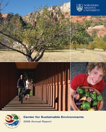 Center for Sustainable Environments - Northern Arizona University