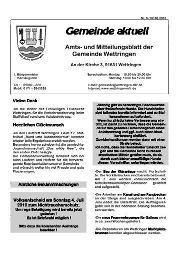 Amts - Wettringen