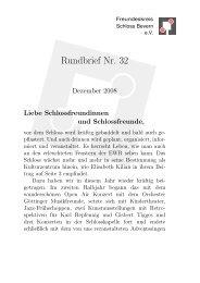 Als pdf lesen - Freundeskreis Schloss Bevern eV