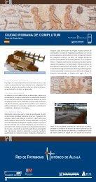 CIUDAD ROMANA DE COMPLUTUM - Parque Arqueológico ...