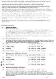 Vorlesungsverzeichnis des Sommersemesters 2012