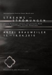 streams - Collegium musicum - Universität zu Köln