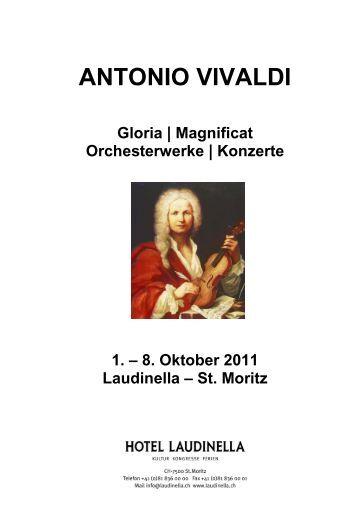 antonio vivaldi collegium musicum ostschweiz - Antonio Vivaldi Lebenslauf
