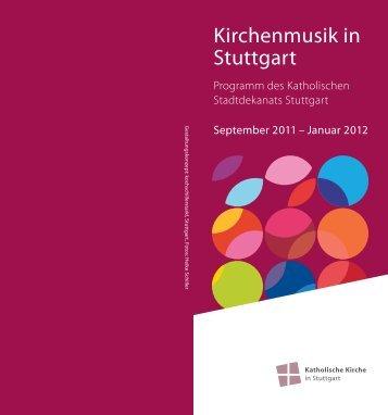 Kirchenmusik in Stuttgart - Katholische Kirche Stuttgart