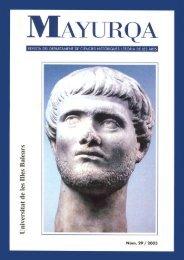 Mayurqa - Volum 29 - Biblioteca Digital de les Illes Balears ...