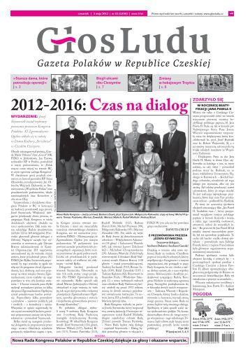 2012-2016: Czas na dialog - GlosLudu.cz