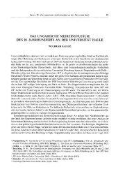 das ungarische medizinstudium des 18. jahrhunderts an der ...