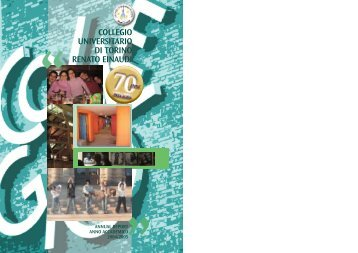 Annual Report a.a. 2004/05 - Collegio Einaudi