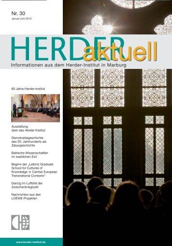 Nr. 30 - Herder-Institut