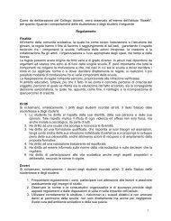 1 Come da deliberazione del Collegio docenti, verrà ... - Istituto Boselli