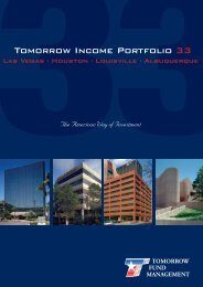 33Tomorrow Income Portfolio 33 - Tomorrow Fund Management