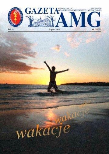 Gazeta AMG - Gdański Uniwersytet Medyczny