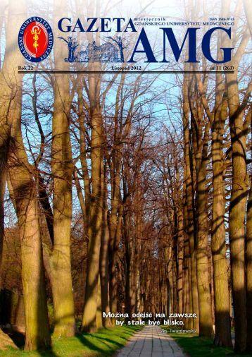 Rok 22 Listopad 2012 nr 11 (263) - Gazeta AMG - Gdański ...