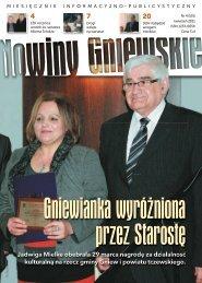Nowiny Gniewskie kwiecień 2011 - Miasto i Gmina Gniew