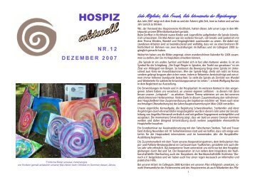 Nr. 12 / Dezember 2007 (ca. 1,3 MB - Hospizverein Kirchheim bei ...