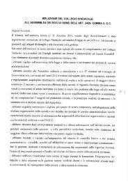 Relazione Collegio Sindacale - Autostrada Pedemontana Lombarda
