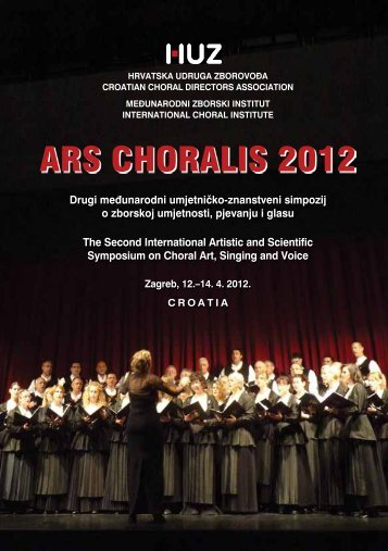 ARS CHORALIS 2012 - Croatian Choral Conductors Association