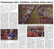 Stimmungsvolles Jubiläum auf dem Scheersberg Das größte ...