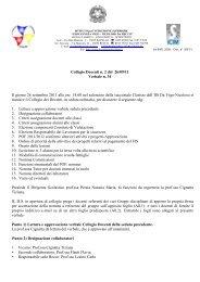 Collegio Docenti n. 2 del 26/09/11 Verbale n. 34 Il giorno 26 ...