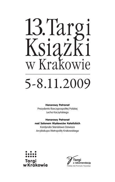 Honorowy Patronat Prezydenta Rzeczypospolitej Targi W