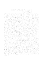 Cenni storici sulle Confraternite (di Francesco ... - Diocesi Ugento