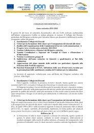 COLLEGIO DEI DOCENTI n. 1 Anno scolastico ... - scuolagalilei.it