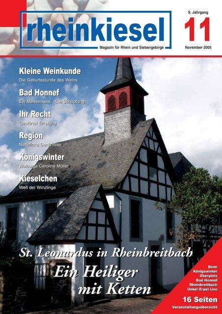 Ein Heiliger mit Ketten Ein Heiliger mit Ketten - Rheinkiesel