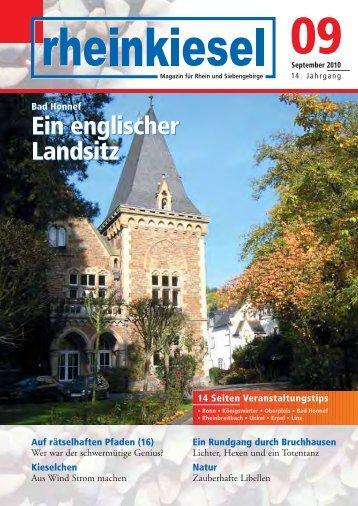Ein englischer Landsitz Ein englischer Landsitz - Rheinkiesel