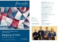 Begegnung mit Musik - Collegium Musicum Basel