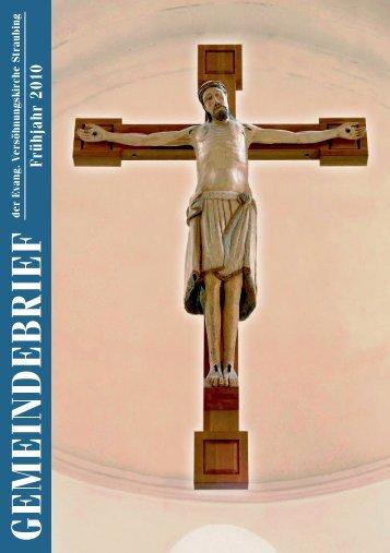 G E M E IN D E B R IE F - Evangelische Versöhnungskirche Straubing