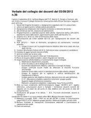 Verbale del collegio dei docenti del 03/09/2012 n.36