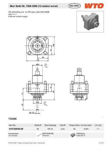 T32206 Mori Seiki NL 1500-3000 (12 station turret) - Dimac Tooling