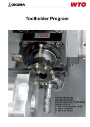 Toolholder Program